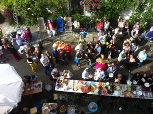 straat-fundraisingfeest voor Duchenne Heroes